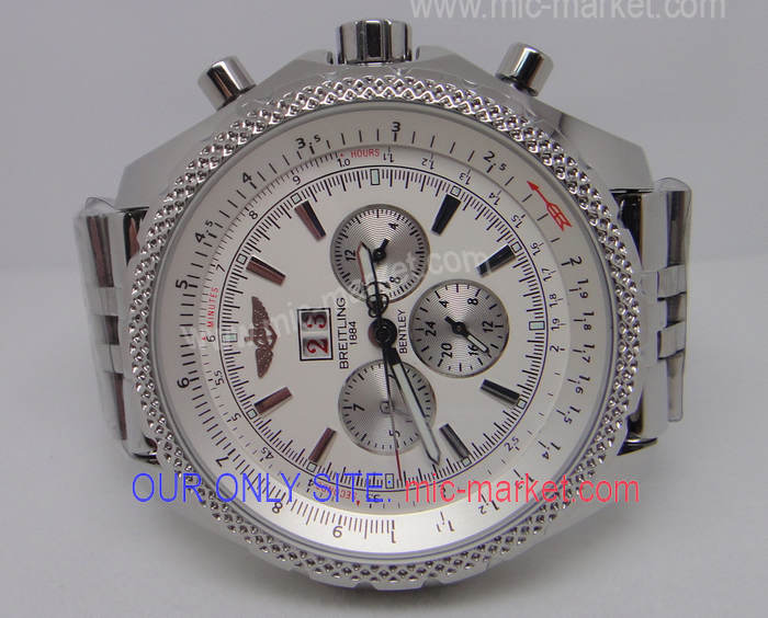 Best Replica Breitling 1884 Bentley SS White Face Watch