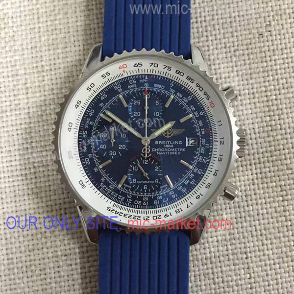 Best Copy Breitling Navitimer Blue Dial Watch Edition Speciale