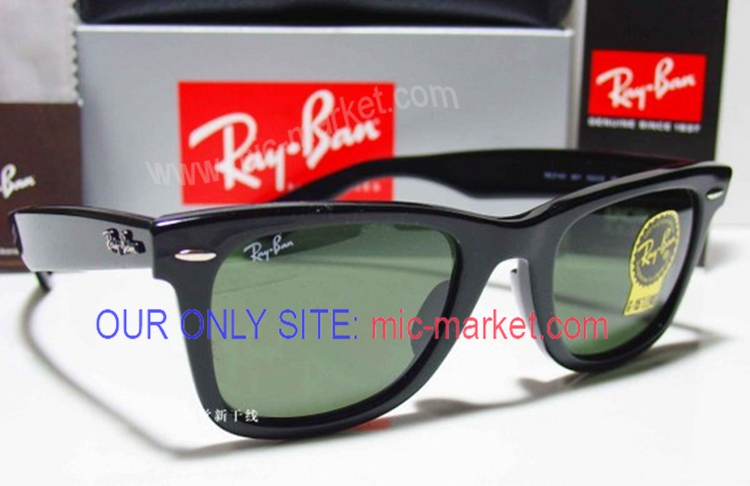 Best Replica Ray-Ban Low Price Wayfarer Black Sunglasses