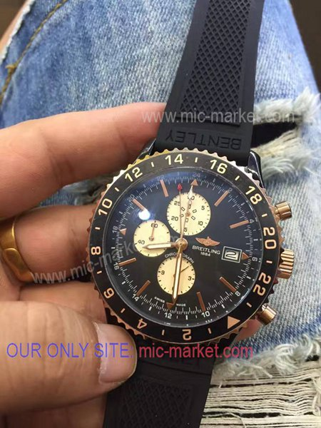 AAA Copy Breitling Navitimer Rubber Strap Watch