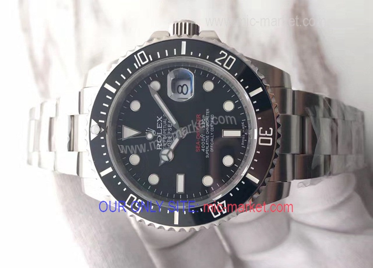 50 Anniversary Replica Rolex Sea-Dweller Watch Rolex Black Bezel