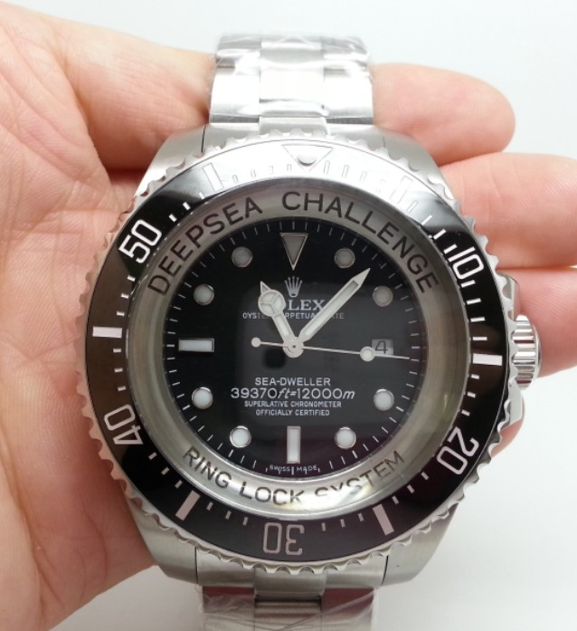 AAA Rolex Deepsea James Cameron Replica Watch 51mm