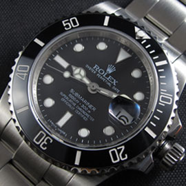 Rolex Black Ceramic Submariner Replica 116610LN Swiss ETA 2836-2