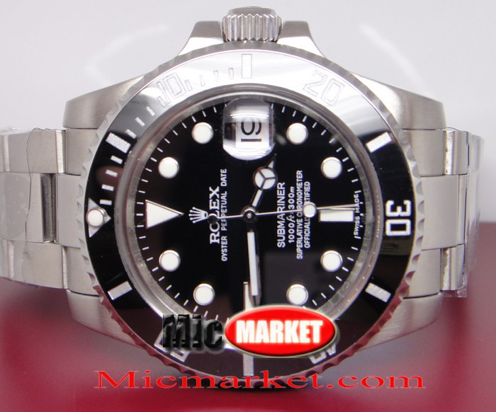Rolex Black Ceramic Submariner Replica Watch Hot Sale
