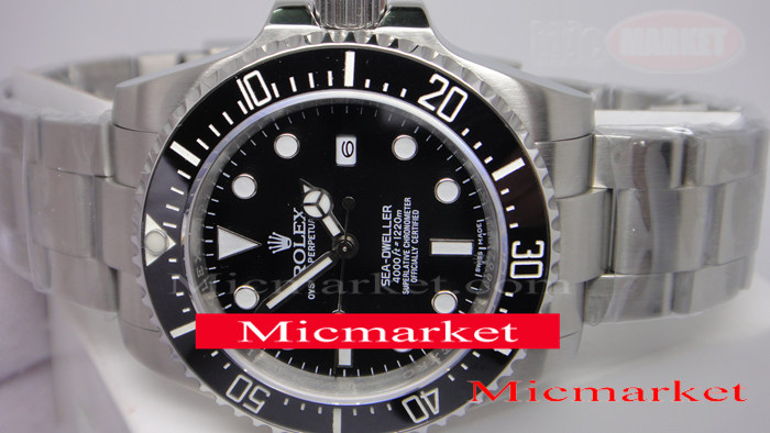 New Model Rolex SEA-DWELLER 4000m SS Mens Replica Watch