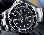 Rolex Submariner Stainless Steel Black Face